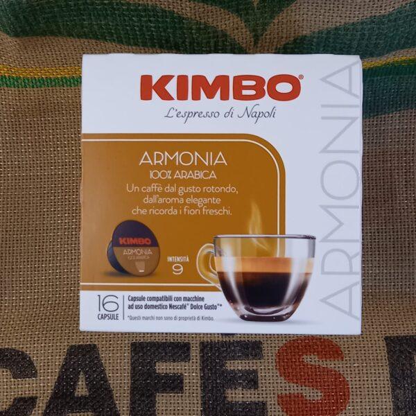 dolce gusto kimbo armonia 100 arabica