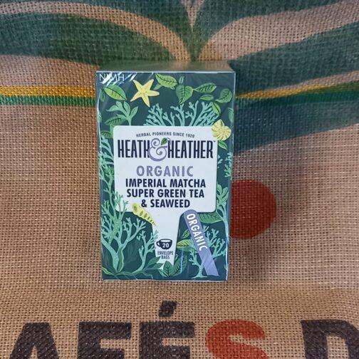 heat heather tè verde macha alga marina