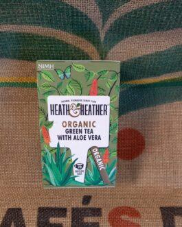 Tè e Tisane Heat & Heather Tè Verde e Aloe Vera 20 Pz