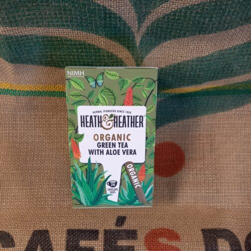 heat heather tisana tè verde aloe vera