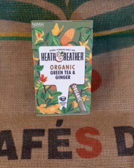 Tè e Tisane Heat & Heather Tè Verde e Zenzero 20 Pz