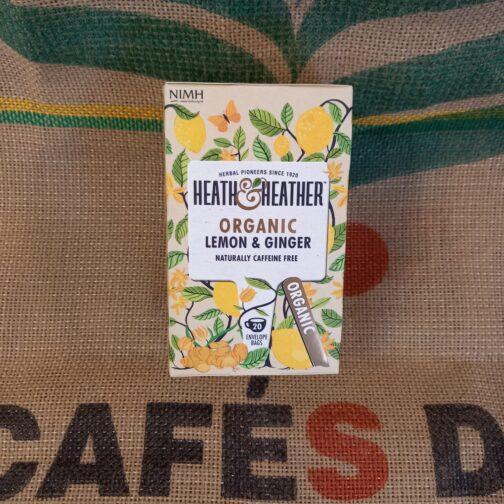 heat heather tisana zenzero e limone