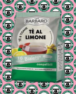 Bialetti Barbaro Tè al Limone 10 Pz