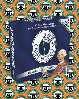 Macinato Borbone miscela Nobile bipack 2x250Gr