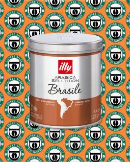 Macinato Illy Arabica Selection Brasile 125Gr