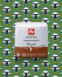 Iperespresso Illy Arabica Selection Brasile 18pz