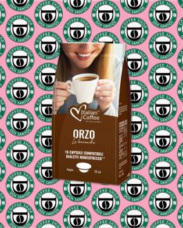 Bialetti Italian Coffee Orzo 16 Pz