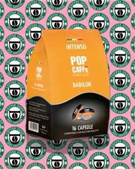 Bialetti POP Caffè Intenso da 16 a 96pz